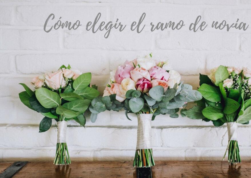 Cómo elegir el ramo de novia perfecto: 5 factores a tener en cuenta