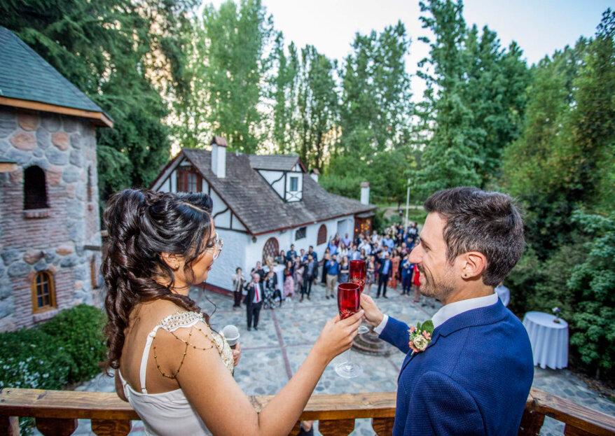Torreón del Principal: gran diversidad de espacios que harán de su matrimonio una experiencia única