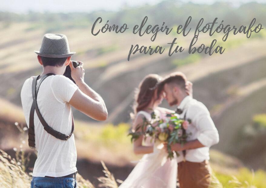¿Cómo elegir al fotógrafo de bodas? ¡Cinco pasos que debes seguir para encontrar al mejor!