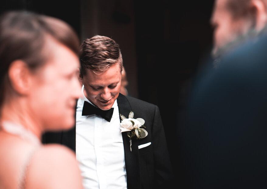Cómo escoger el traje del novio: ¡los 5 consejos para robar todas las miradas!