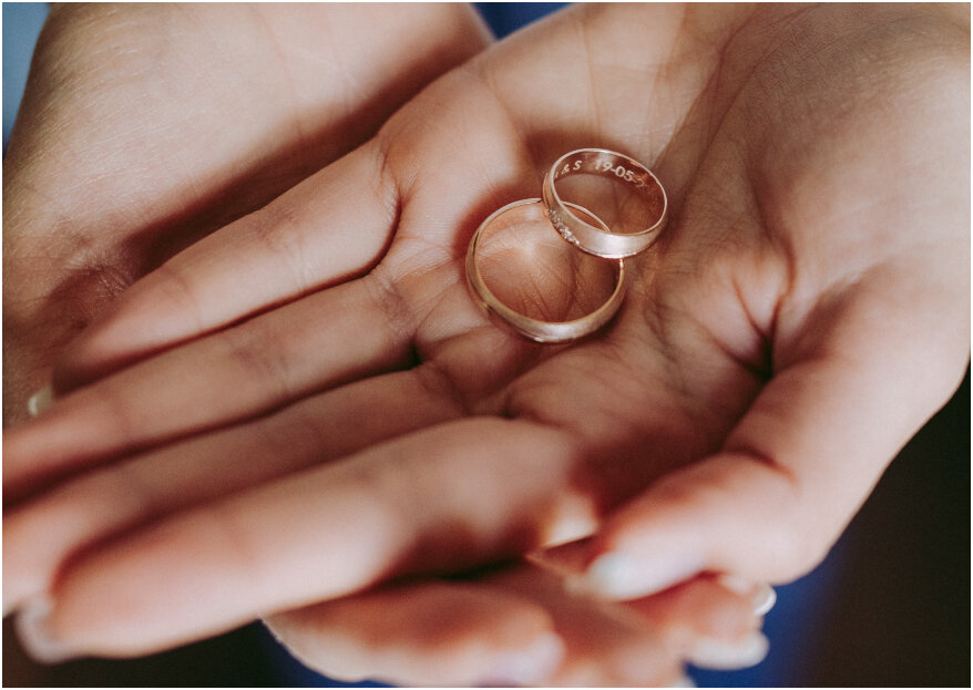 Las formas y estilos en las argollas de matrimonio: ¡conócelas!