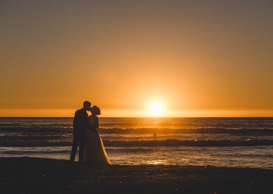 Casarse en la playa: 5 pasos para organizar tu día frente al mar