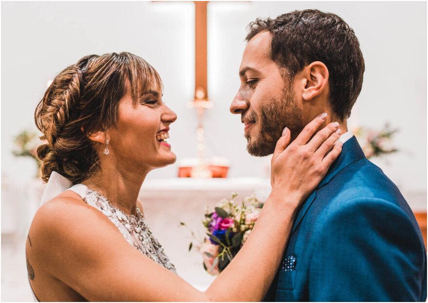 Fernanda y Andrés, ¡una historia de amor... y de película!
