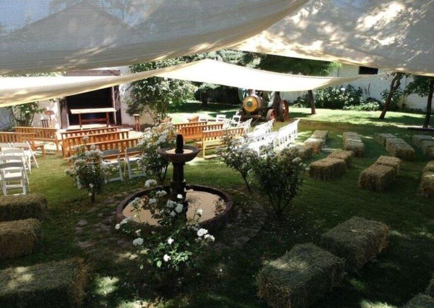 Eventos Licarayen y su casona, la opción ideal para un matrimonio inolvidable