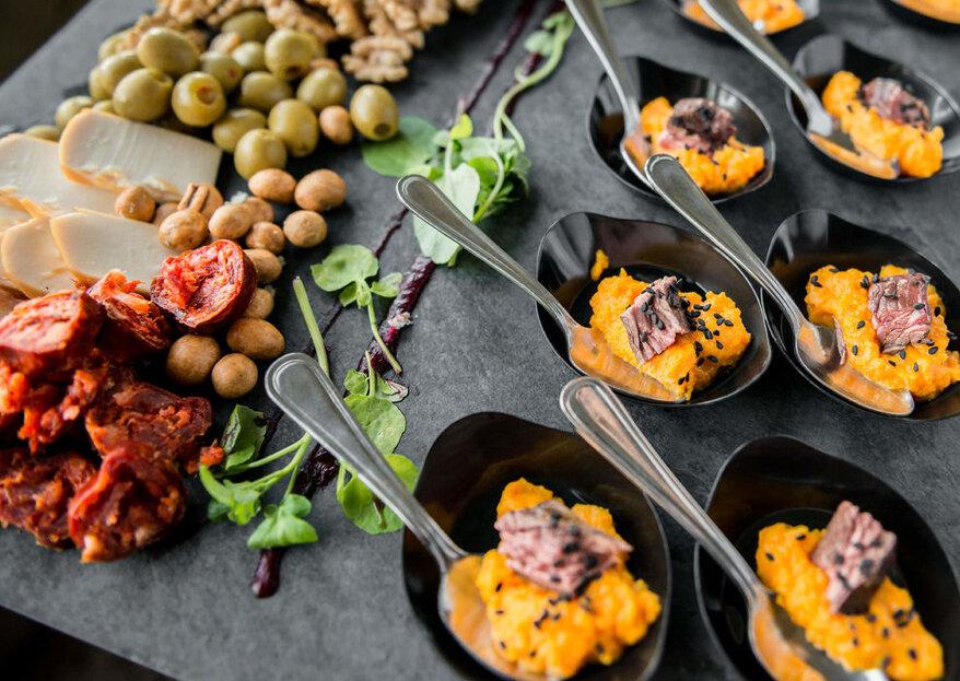 Haz que tu banquete triunfe entre tus invitados con los servicios de Minga Producciones