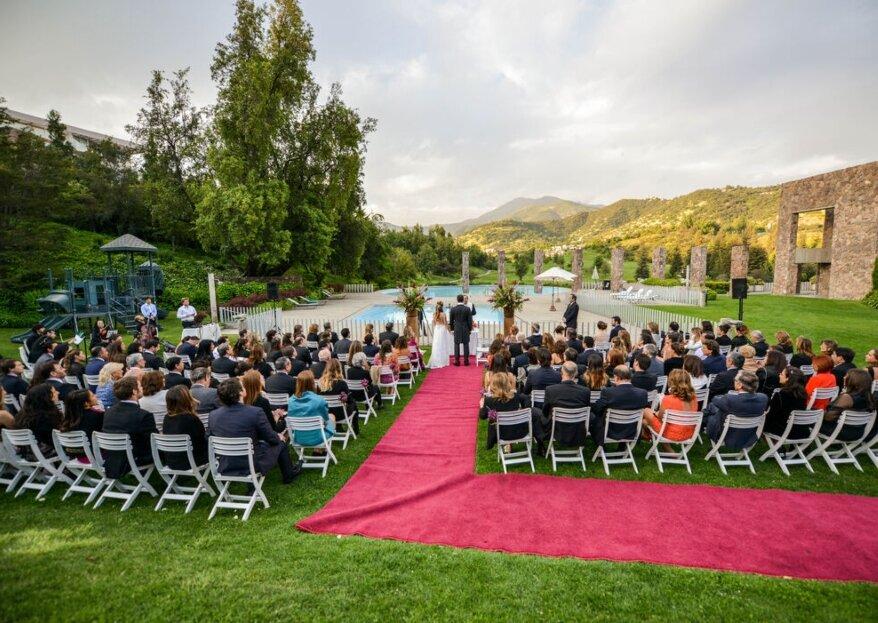 ¿Cómo lograr un efecto WOW en tus invitados con el lugar del matrimonio?
