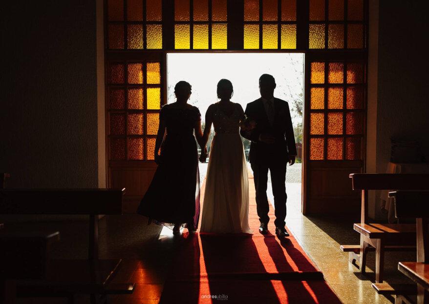 Protocolo para bodas con los padres divorciados: ¿cómo sentar a tus papás cuando están separados?