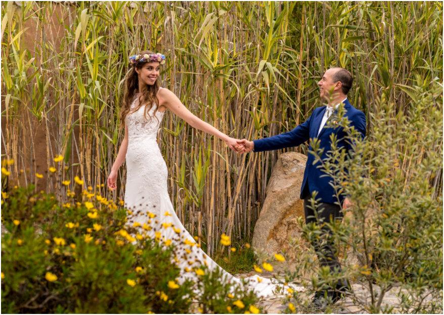 La boda de Pauli y Marcelo: ¡un mágico e ineludible amor!