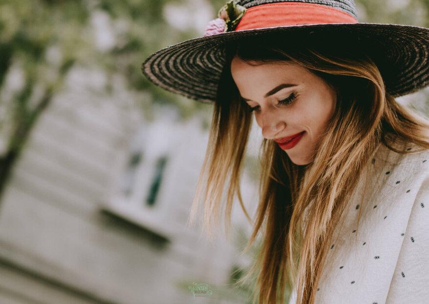 Canotier para invitadas: el complemento ideal para matrimonios