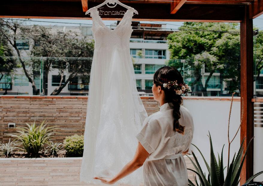 Cómo escoger el vestido de novia para ceremonia civil ¡te contamos!