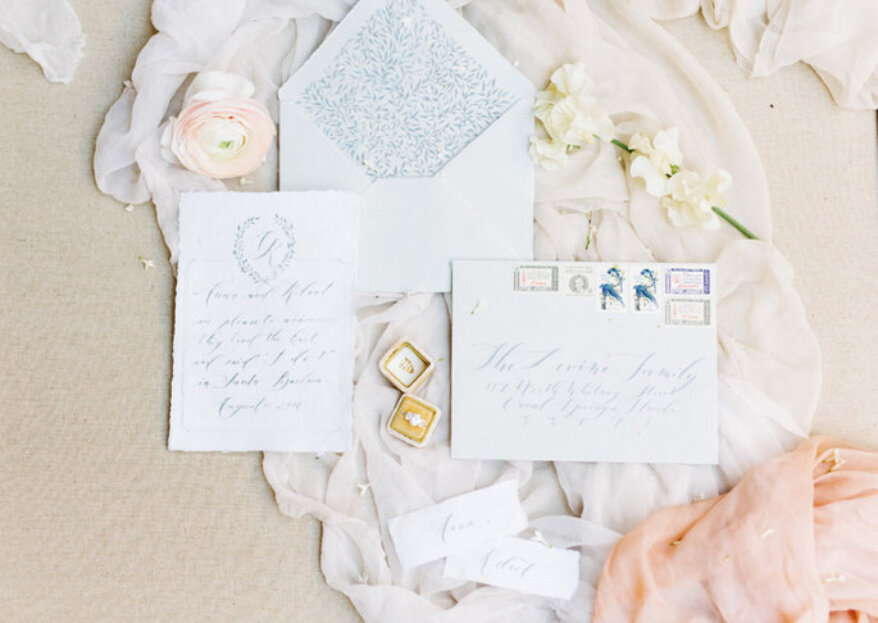 Cómo elegir los partes de matrimonio: ¡escoge las invitaciones de boda perfectas!