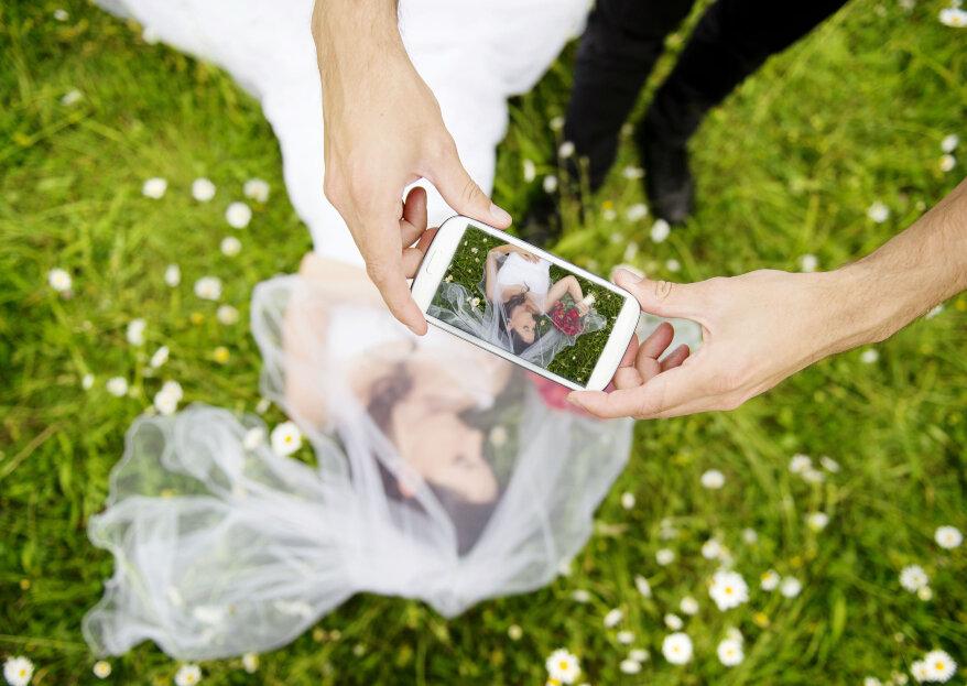 Prohibir el uso de celulares en un matrimonio, ¿necesario o exagerado?