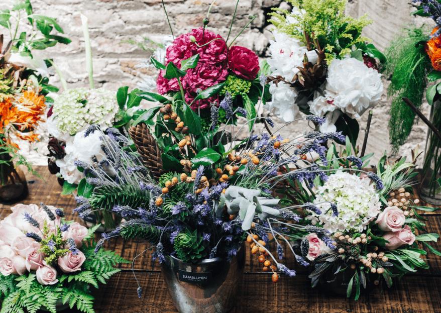 La importancia de las flores en tu gran día
