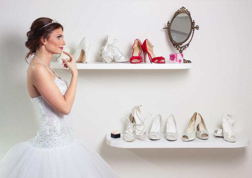 ¿Cómo elegir los zapatos de novia para tu matrimonio? ¡Aprende a escoger el accesorio con el que caminarás hasta el altar!