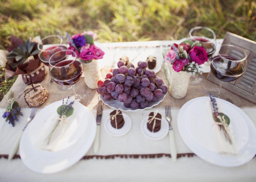 Cómo elegir el menú del matrimonio: ¡consejos para ofrecer el mejor banquete!