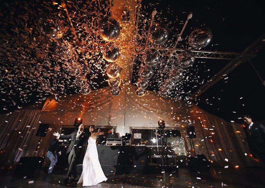 La música, la gran protagonista en tu fiesta de matrimonio