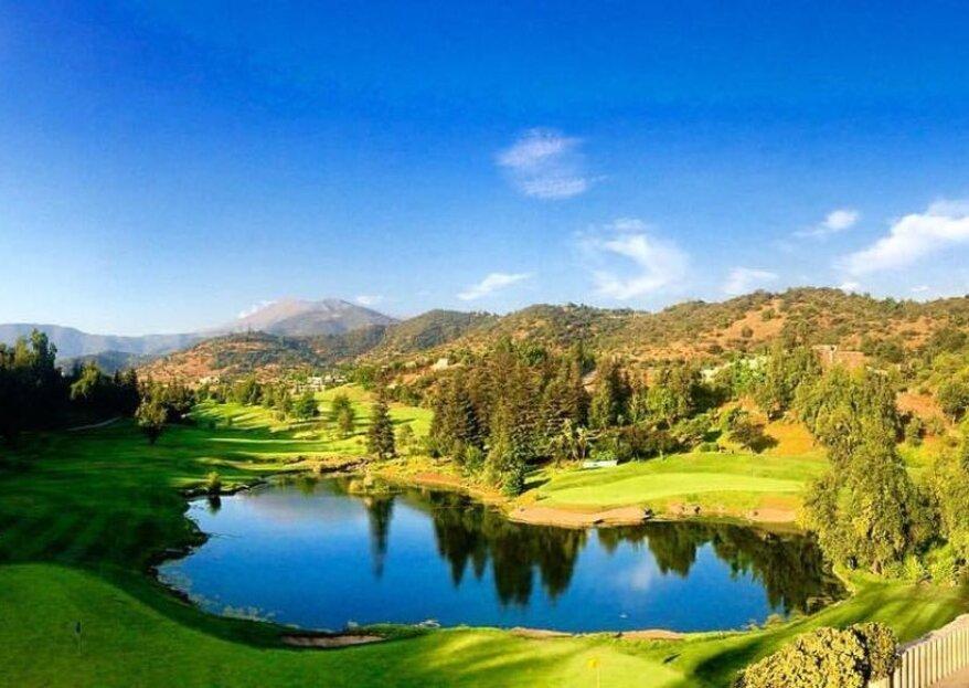 Valle Escondido Golf & Country Club: un lugar con impresionantes vistas para celebrar tu matrimonio