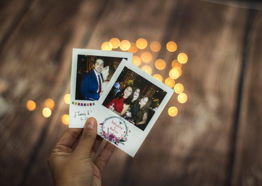 ZAMAN: incluye en tu matrimonio un photobooth que permita a los invitados pasarlo bien y tener un bonito recuerdo