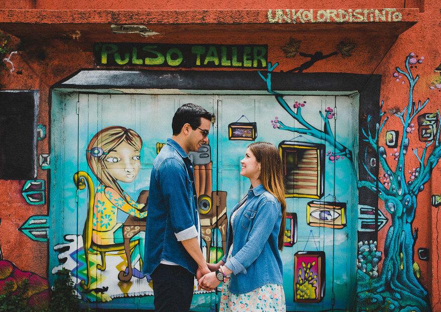 Combina tu look de invitada con tu pareja. ¡Anota estas ideas!