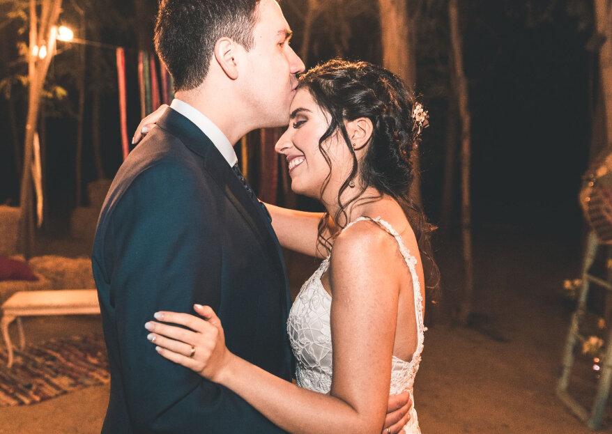 La boda de Karime y Francisco: un destinado y enérgico amor