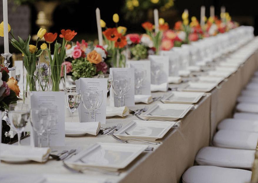 Haz que el banquete de tu matrimonio triunfe entre tus invitados gracias a Sofía Jottar