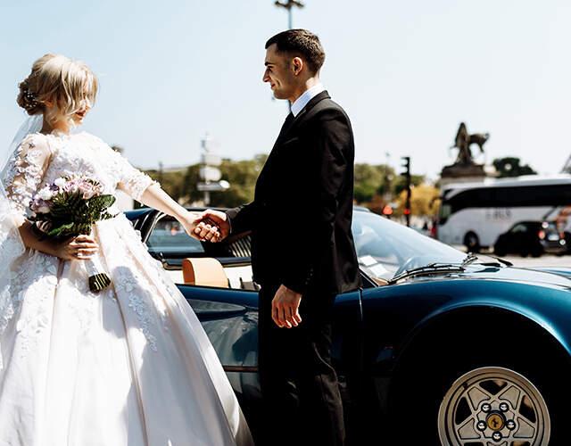 Autos para matrimonio en Chile