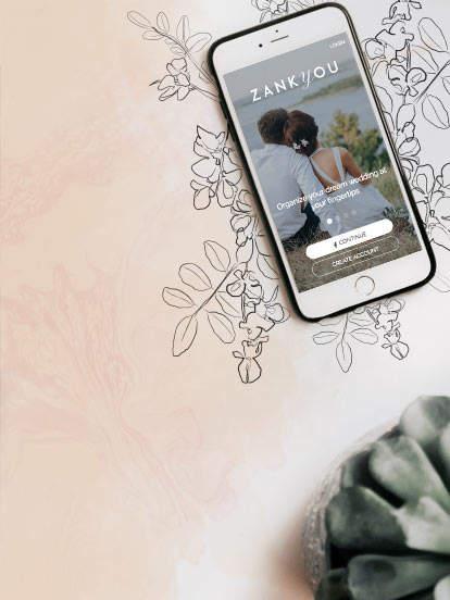 App iPhone y Android para tu matrimonio