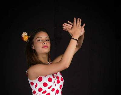 Punto Flamenco Verde Oliva